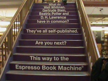 UP THE STAIRS TO KNOWLEDGE