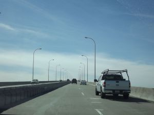 On the Coronado Bridge
