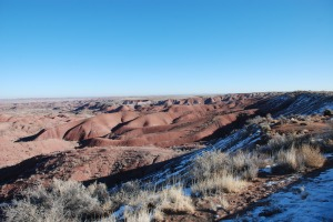Painted Desert - No Snow