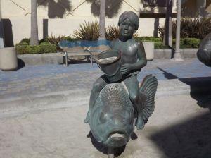 Spirit of Imperial Beach sculpture