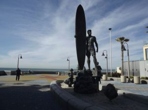 Spirit of Imperial Beach sculpture by James A Wasil