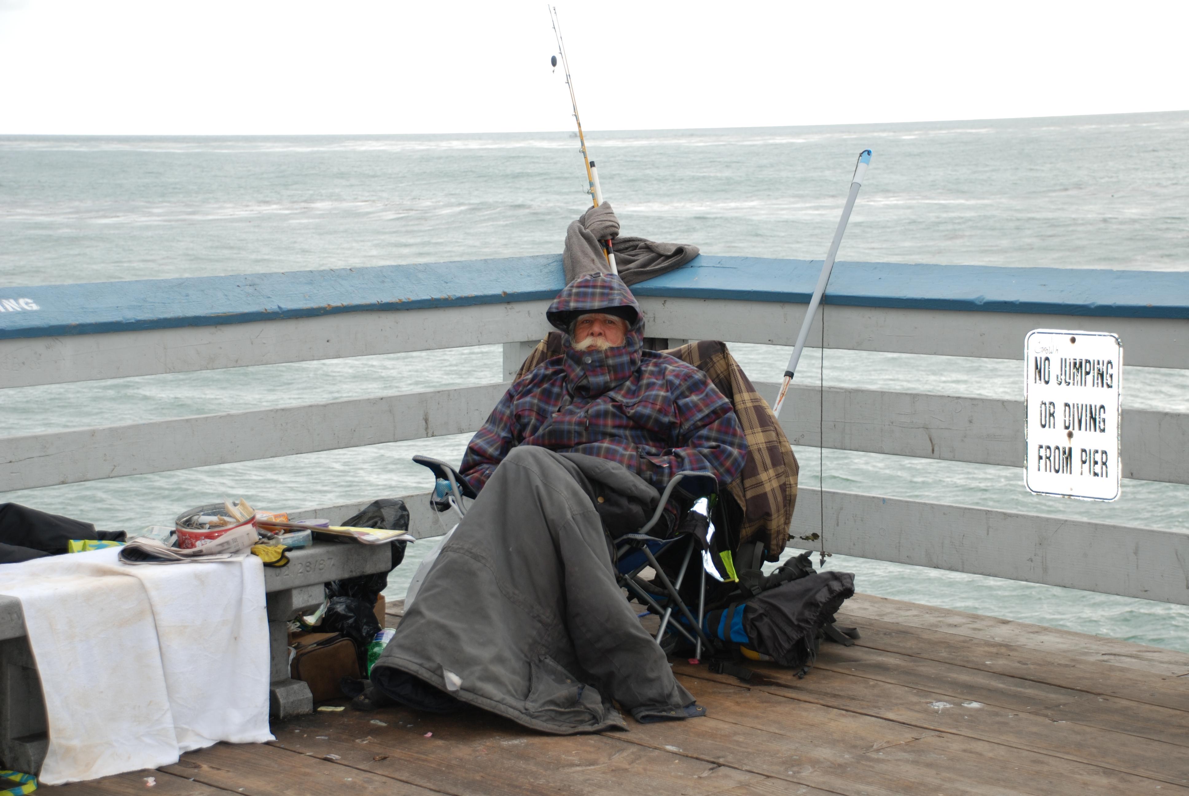 Southern california beaches san clemente little usa trips for Pier fishing san diego