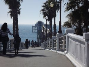 Headed down to the Pier