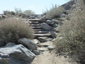 Stone Steps built by the CCC