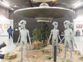 MUSEUM DISPLAY OF ALIENS