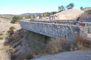BRIDGE OVER ROCK