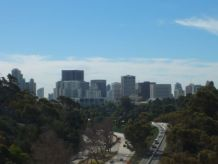 SAN DIEGO SKYLINE FROM CABRILLO BRIDGE