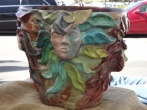 DECORATED FLOWER POT 3