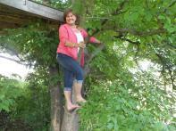 EVEN GRANDMAS LIKE THE CLIMBING TREE