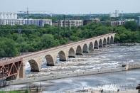 STONE ARCH BRIDGE - ONCE RAILS