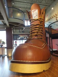 WORLD'S LARGEST BOOT