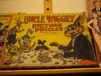 UNCLE WIGGLY'S PUZZLE