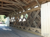 EXAMPLE OF A TOWN LATTICE COVERED BRIDGE