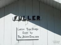 FULLER COVERED BRIDGE SIGN