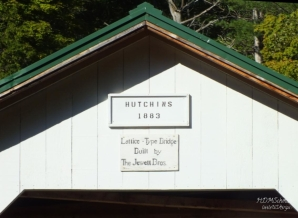 Hutchins Bridge Sign