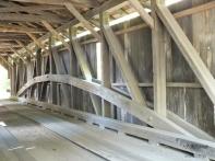WET HILL ROAD COVERED BRIDGE - TOWN LATTICE