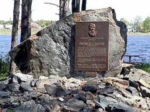 PAT ROCHE LANDING -- US SIDE OF THE TUG OF WAR