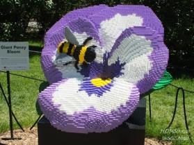 GIANT PANSEY - 29,314 LEGOS
