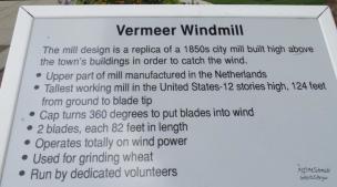 P WM VERMEER WINDMILL SIGNAGE
