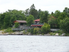 SHA SHA ON DOVE ISLAND FROM RAINY LAKE