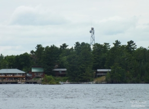 FIRE LOOKOUT TOWER FROM RAINY LAKE